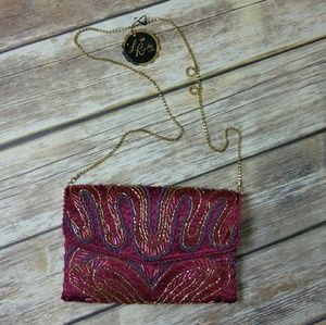 NWT Vintage La Regale Beaded Evening Bag